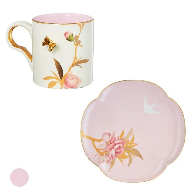 桃花燦燦杯盤組 2